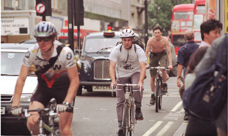 Driver behaviour was more important than issues such as cyclists wearing helmets, said the CTC