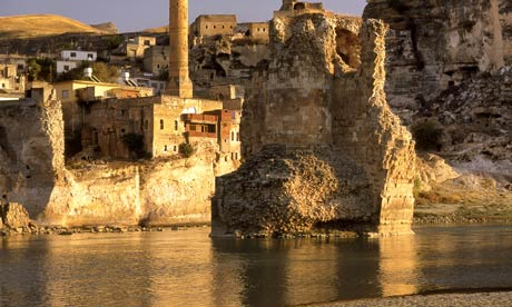 Most of the ancient city of Hasankeyf, in Batman province, will be submerged if South-eastern Anatolia project goes ahead, critics claim. Photograph: Alamy