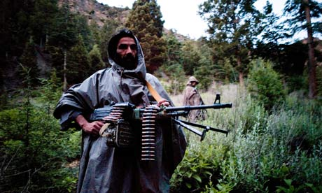 A Taliban fighter loyal to Jalaluddin Haqqani