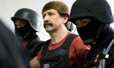 Suspected arms dealer Viktor Bout