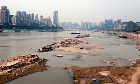 Yangtze-river-dried-up-china