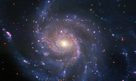 The Pinwheel galaxy pictured a few days ago as a supernova (PTF11kly) heads towards peak brightness.
