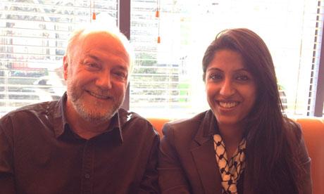 George Galloway with Aisha Ali-Khan