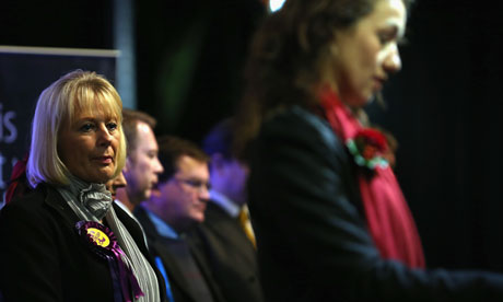 UKIP candidate Jane Collins in Rotherham