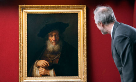 Rembrandt's Portrait of an Old Man, Old Rabbi