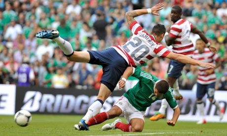 Mexico 01 USA as it happened Football theguardiancom