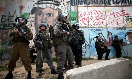 West Bank Kalandia checkpoint