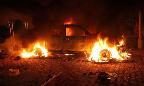 S consulate compound in Benghazi attacked