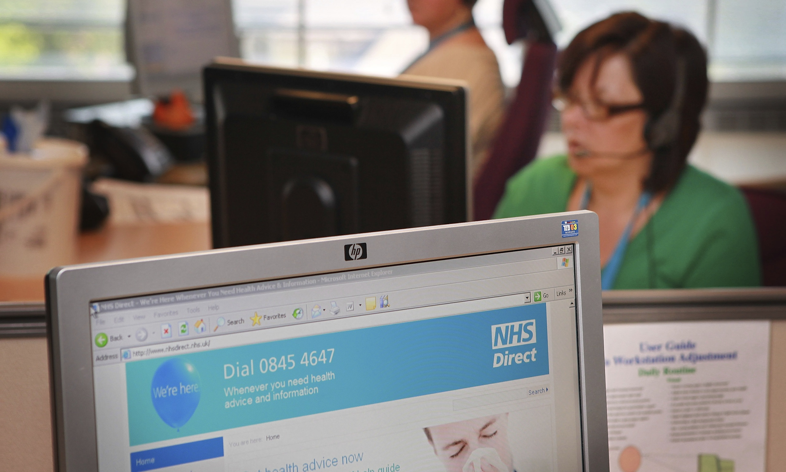 NHS Directs closure raises concerns about consistency of care  Society  The Guardian
