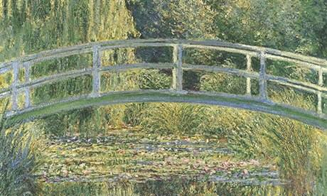Bridge Over a Pond of Water Lillies (1899) by Claude Monet