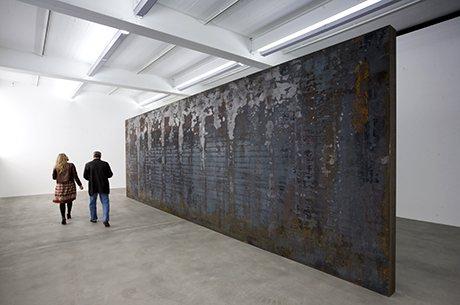 Fernando Pessoa, 2007-8, by Richard Serra