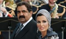Qatar's Emir Sheikh Hamad bin Khalifa al-Thani