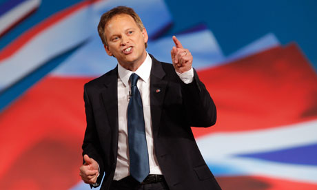 Conservative party chairman, Grant Shapps