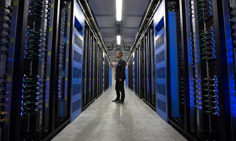 Facebook's new digital storage centre