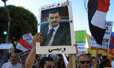 Protesters Rally Against Possible Syria Strike