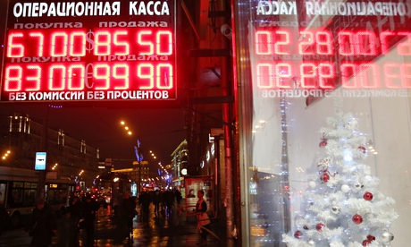 Russian Ruble crashes past 100 against Euro