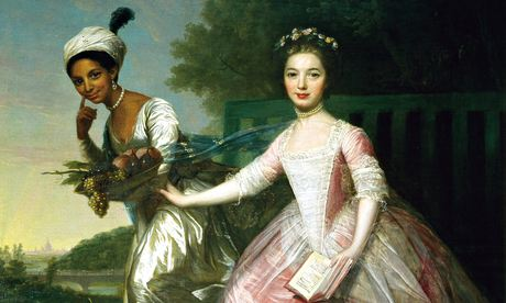 Lady Elizabeth Murray and Dido Belle, once attributed to Zoffany