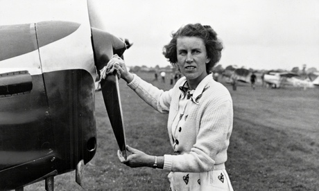 Pioneering aviator Lettice Curtis.