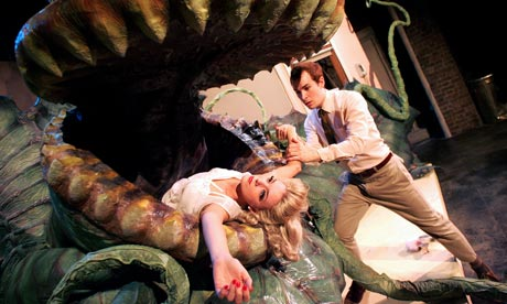 Sheridan Smith and Paul Keating in Little Shop of Horrors