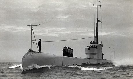 HMS Poseidon, a state-of-the-art submarine launched in 1929. It sank only two years later