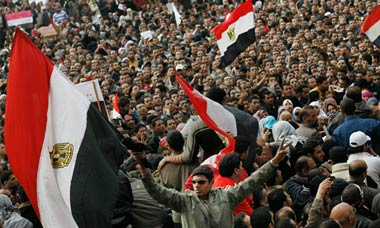 Demonstration in Tahrir Square