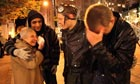 Police hit Occupy Seattle protesters with pepper spray - video