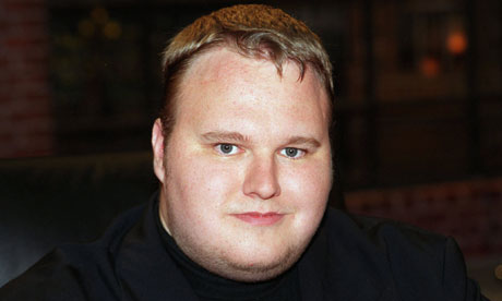 MegaUpload.com founder Kim Dotcom said: 'We have nothing to hide'. Photograph: Action Press/Rex Features