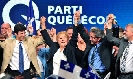 Parti Quebecois leader Pauline Marois
