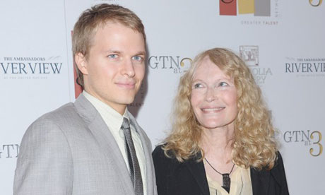 Ronan and Mia Farrow