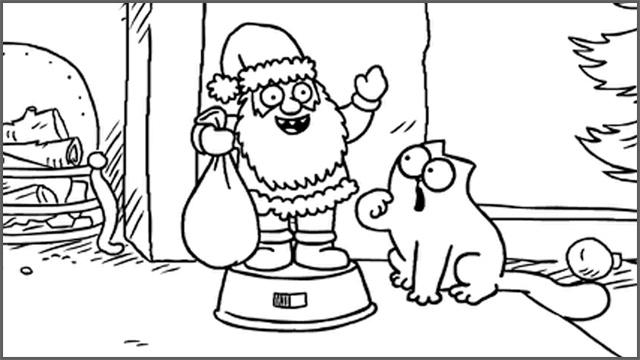 Simon's Cat: Christmas Presence