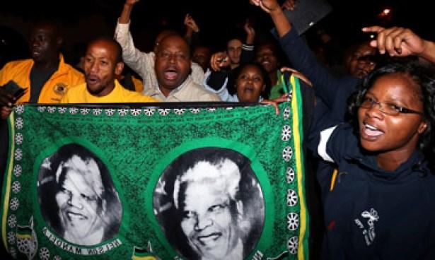 Nelson Mandela celebrations in Houghton