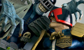 Judge Death and Judge Dredd