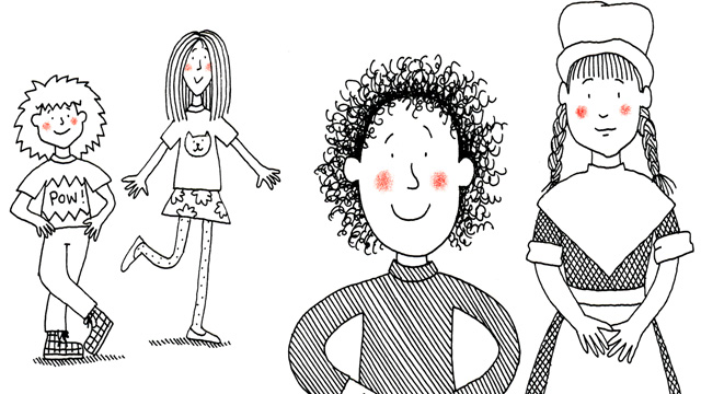 Author Jacqueline Wilson on illustrator Nick Sharratt: 'He