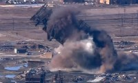 Blast furnace demolished at steel mill in Maryland - video ...