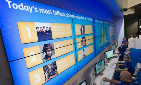 The Social Media Command Center software, powered by the Salesforce Marketing Cloud