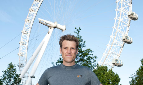 James Cracknell London Eye