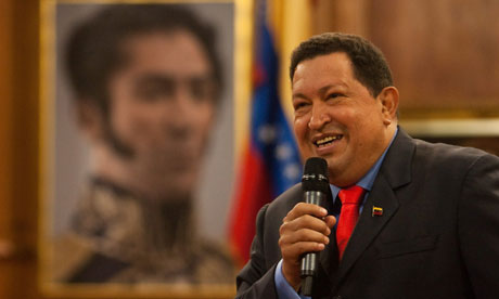 Hugo Chávez press conference