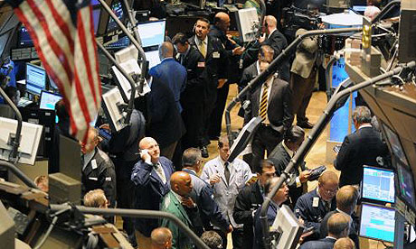 Wall Street traders