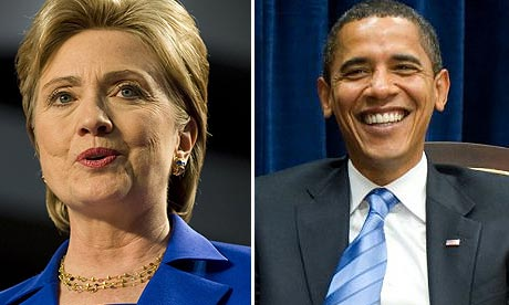 Hillary Clinton, Barack Obama