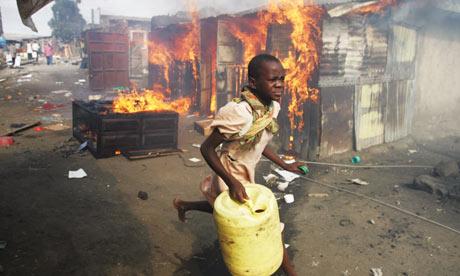 Ethnic violence in Kenya
