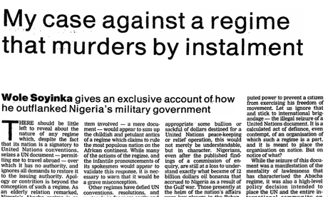 murders by instalment 23/11/94