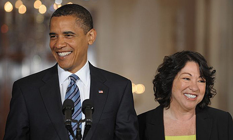 President Obama introduces Judge Sotomayor as his Supreme Court pick.