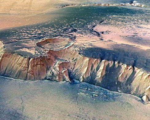 The Echus Chasma (from ESA/Getty Images)
