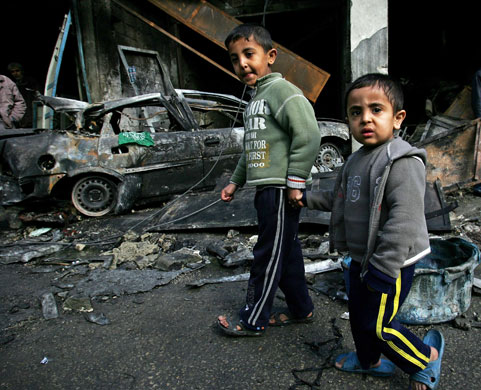Gallery Children victims of Gaza: Children casualities of Gaza