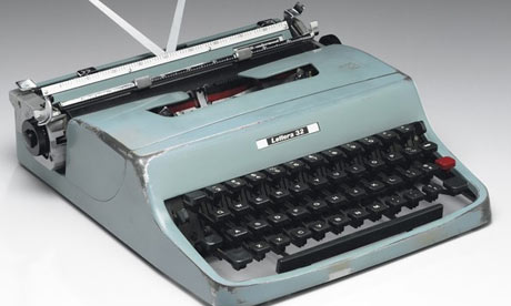 Cormac McCarthy's venerable typing machine