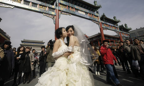 Couples in Beijing launch campaign for samesex marriages