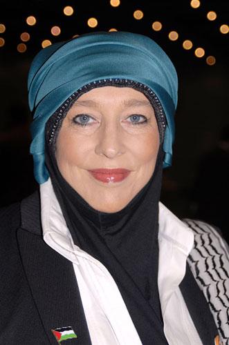 Muslim women: Yvonne Ridley