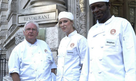 A Masterchef publicity shot that has nothing to do with anything.