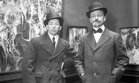 Umberto Boccioni and Filippo Tommaso Marinetti