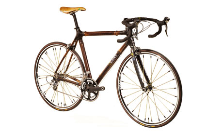 A £3,000 racing bike made from bamboo by Craig Calfee